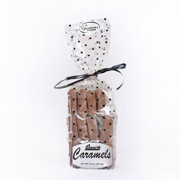 Classic Bourbon Sea Salt Caramels 16oz Gift Bag
