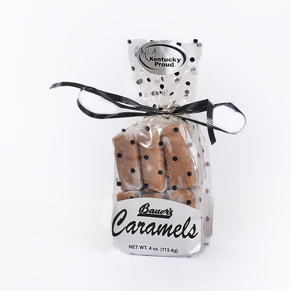 Classic Bourbon Sea Salt Caramels 4oz Gift Bag