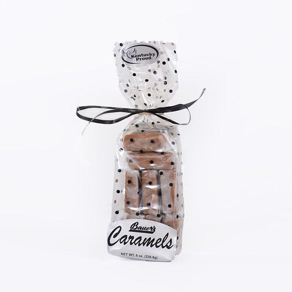 Classic Bourbon Sea Salt Caramels 8oz Gift Bag
