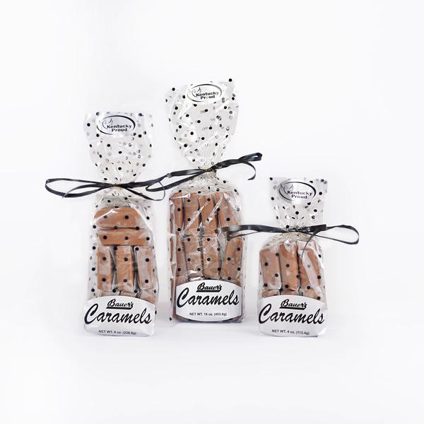 Classic Bourbon Sea Salt Caramels Gift Bag