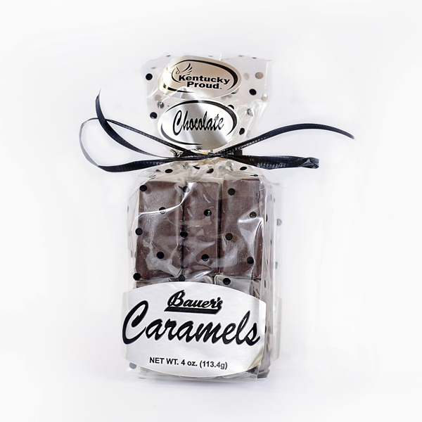 Classic Bourbon Sea Salt Chocolate Caramels 4oz Gift Bag