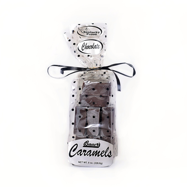 Classic Bourbon Sea Salt Chocolate Caramels 8oz Gift Bag