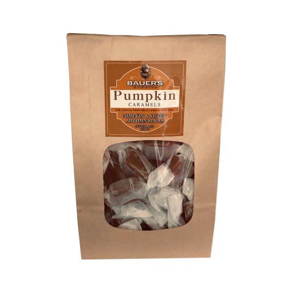 Pumpkin Caramels Bauers Candy