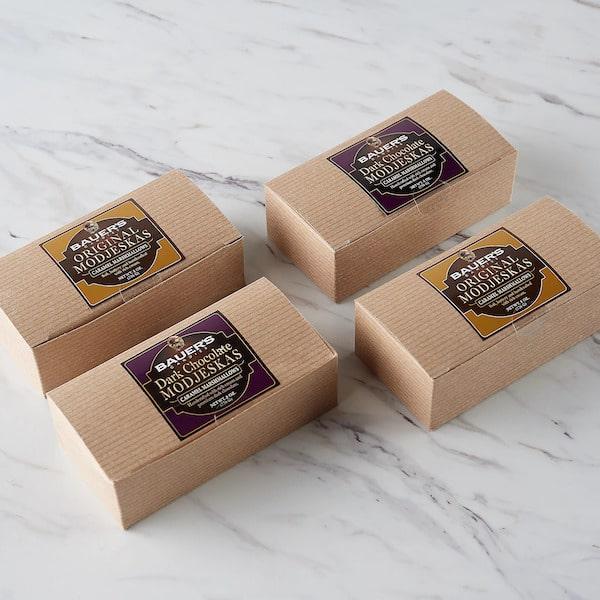 8oz Modjeskas Kraft Pinstripe Box